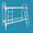 Кровати металлические одноярусные, для бытовок, кровати двухъярусные дёшево - Изображение #2, Объявление #1480239