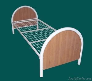 кровати металлические двухъярусные, кровати для пансионатов, кровати одноярусные - Изображение #6, Объявление #696158