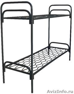 Металлические кровати для пансионатов, кровати армейские, кровати одноярусные - Изображение #2, Объявление #1479376