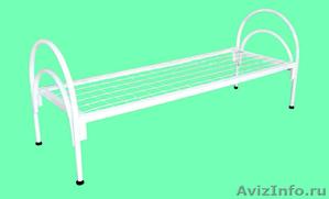 Металлические кровати для пансионатов, кровати армейские, кровати одноярусные - Изображение #3, Объявление #1479376