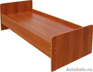 Кровати металлические для казарм, кровати двухъярусные для общежитий. Дёшево - Изображение #3, Объявление #1479840