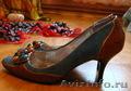 Туфли женские, 35-36 размер, хорошее состояние, небольшой каблук
