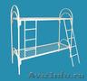 кровати металлические двухъярусные,  кровати для пансионатов,  кровати одноярусные