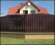 Забор металлический штакетник (Польша)
