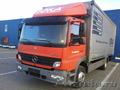 Перевозки м/автобусами и грузовиками до 7 тонн