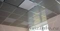 Потолки подвесные алюминиевые: кассета открытого типа