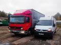 Квартирные, офисные и дачные переезды грузовиками и м/автобусами до 7 тонн