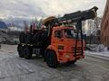 Лесовозный автопоезд  Камаз ,  2019 г.в. 300 л/с,      с манипулятором Лизинг